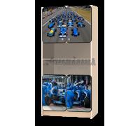 Стеллаж детский «Формула» синий