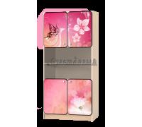 Стеллаж детский «Весна» розовый