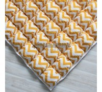 Игровой коврик Бомбон Yellow Zigzag