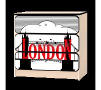 Комод «Лондон» белый