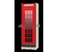 Шкаф-пенал детский «Телефонная Будка»