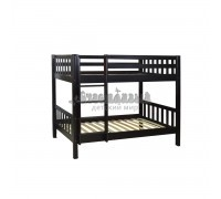 Двухъярусная кровать из массива сосны для детей Ладушка