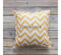 Декоративная подушка Yellow Zigzag, VamVigvam