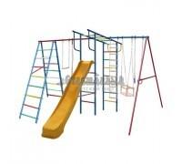 Детский спортивный комплекс (ДСК) «Вертикаль-А+П» дачный МАКСИ с горкой 3,0 м 358