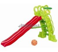 Детская горка Каскад баскетбольное кольцо SL-11