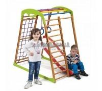 Детский спортивный комплекс для дома BabyWood Plus 1