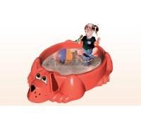Детская песочница-бассейн Собачка,