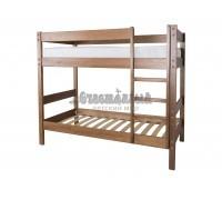 """Двухъярусная кровать из массива """"Дуэт-1"""""""