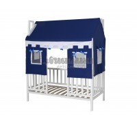 Кровать детская Домовёнок-1