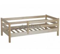 Кровать детская из натурального дерева Кроха-1