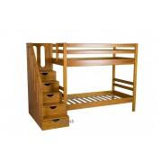 Классическая двухъярусная кровать для детей