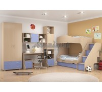 Детская комната Дельта - Композиция 4 ДГ