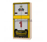 Carobus шкаф детский Мустанг желтый
