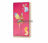 Carobus шкаф детский Винкс-2 розовый