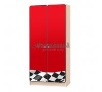 Carobus шкаф детский Флаг красный