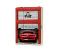 Carobus шкаф детский трёхстворчатый Комаро красный