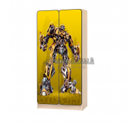 Carobus шкаф детский Трансформеры жёлтый