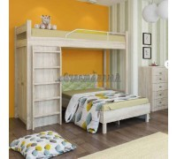 Двухъярусная кровать углом Серия 4.12, Мебельная фабрика Корвет