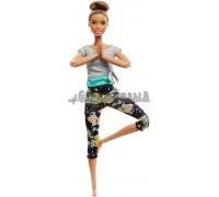 Барби Фитнес - Брюнетка - Безграничные движения, Mattel