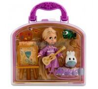 Набор Кукла Малышка Рапунцель в чемоданчике