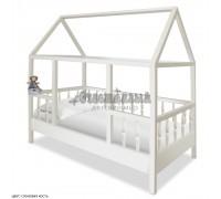 Односпальная кровать домик для детей Миа