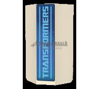 Шкаф угловой «Трансформеры» синий