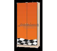 Шкаф детский «Флаг» оранжевый