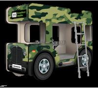 """Двухъярусная кровать-Автобус ОмниБус """"Милитари"""", Carobus"""