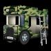 """Двухъярусная кровать-Автобус СлипинБас """"Милитари"""", Carobus"""