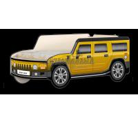 "Кровать-машина Джип Хаммер ""Классик"" жёлтый"