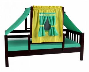 Кровать со шторками Кнопа - 1