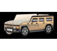 Кровать-машина Джип Хаммер «Классик» бежевый