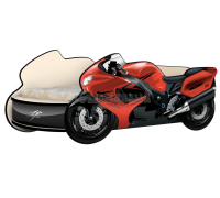 Кровать - Мотоцикл Сузуки