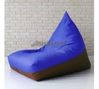 Пирамида Blue's оксфорд Синий-Коричневый