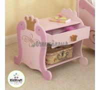 """Прикроватный столик """"Принцесса"""" (Princess Toddler Table), KidKraft"""