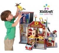 Набор Пожарно-Спасательная станция Kidkraft Делюкс, KidKraft