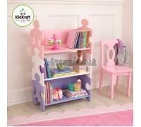 """Система хранения """"Пазл"""", пастель (Puzzle Bookshelf - Pastel), KidKraft"""