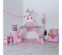 Вигвам Игровая палатка Pink Zigzag