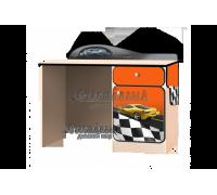 Письменный стол «Лого» оранжевый