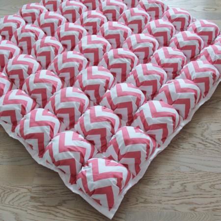 17399, Игровой коврик Бомбон Pink Zigzag, vv020220, 5490ք, 17398-, VamVigvam, Детские ковры