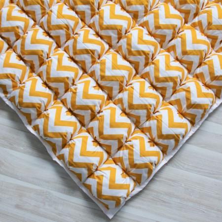 17392, Игровой коврик Бомбон Yellow Zigzag, vv020219, 5490ք, 17391-, VamVigvam, Детские ковры