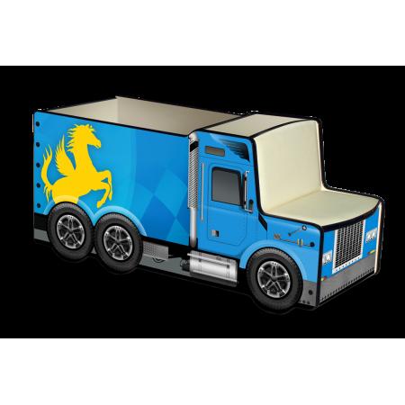 Грузовичок для игрушек «Лого» синий, Carobus