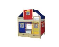 Кровать детская игровая двухъярусная Скворушка-2