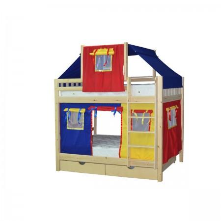 Кровать детская игровая двухъярусная Скворушка-2, МЕБЕЛЬ ХОЛДИНГ