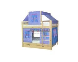 Кровать детская игровая двухъярусная Скворушка-3
