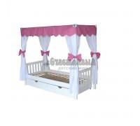 Кровать с навесом Росинка