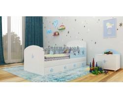 Детская кровать «Звёзды»