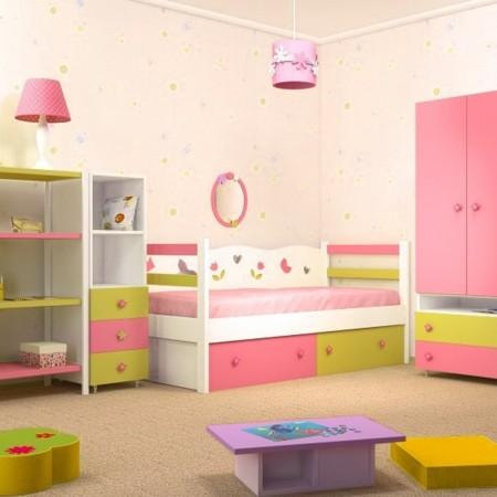 Детская комната для двух девочек, Bambini Letto
