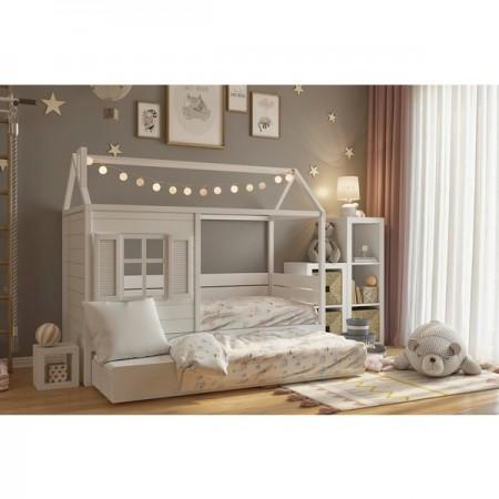 Кровать - домик Мечтатель с окошком, Bambini Letto