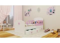 Детская кровать Сердечко